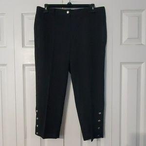 Zac & Rachel Capri Career Pants. Sz. 8 NWOT